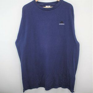 VTG Adidas Made In USA Embroidered T-Shirt S292